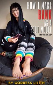 Goddess Lilith Foot Fetish Modeling